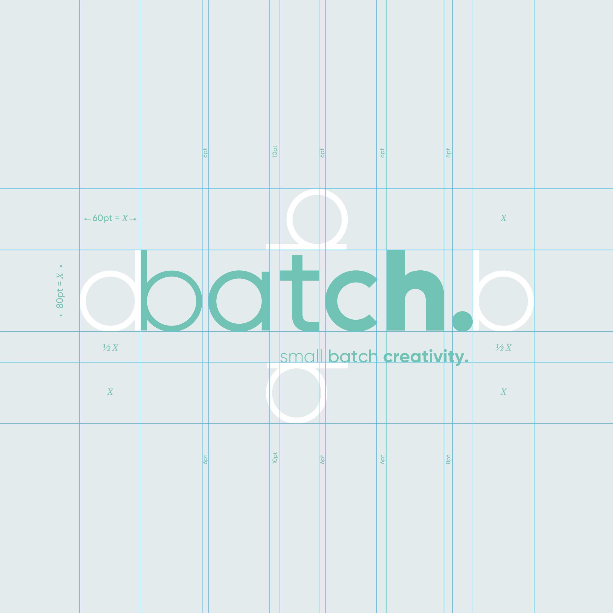 Batch Logotype Structure with Strapline