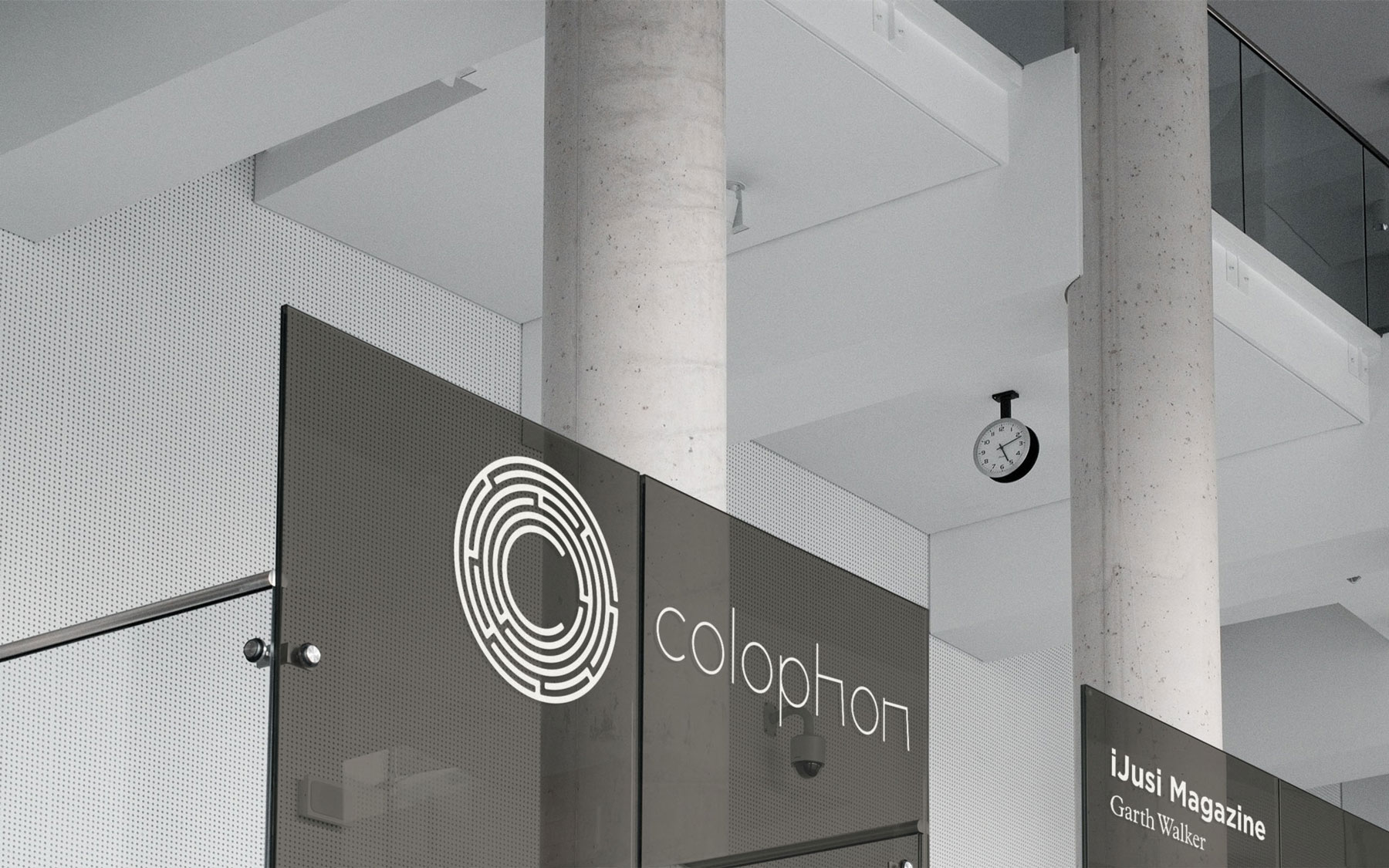 Colophon Wayfinding and Signage
