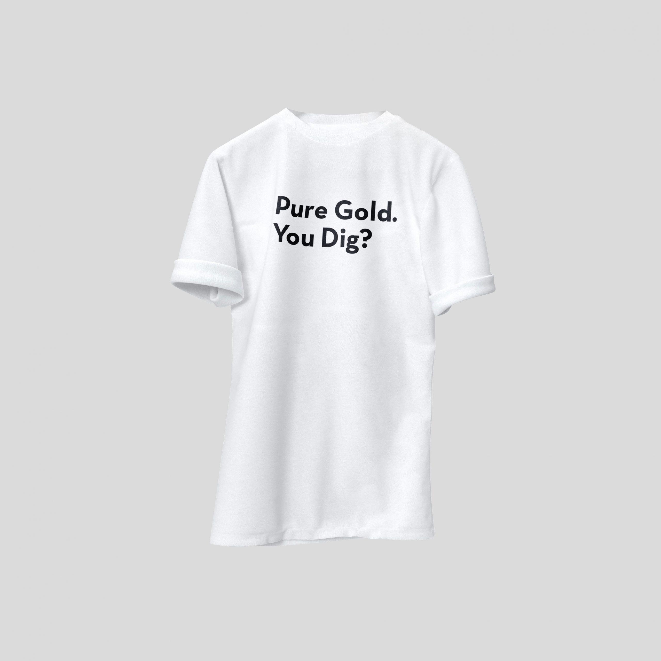 Crushed Ore Hidden Gold T-Shirt 1