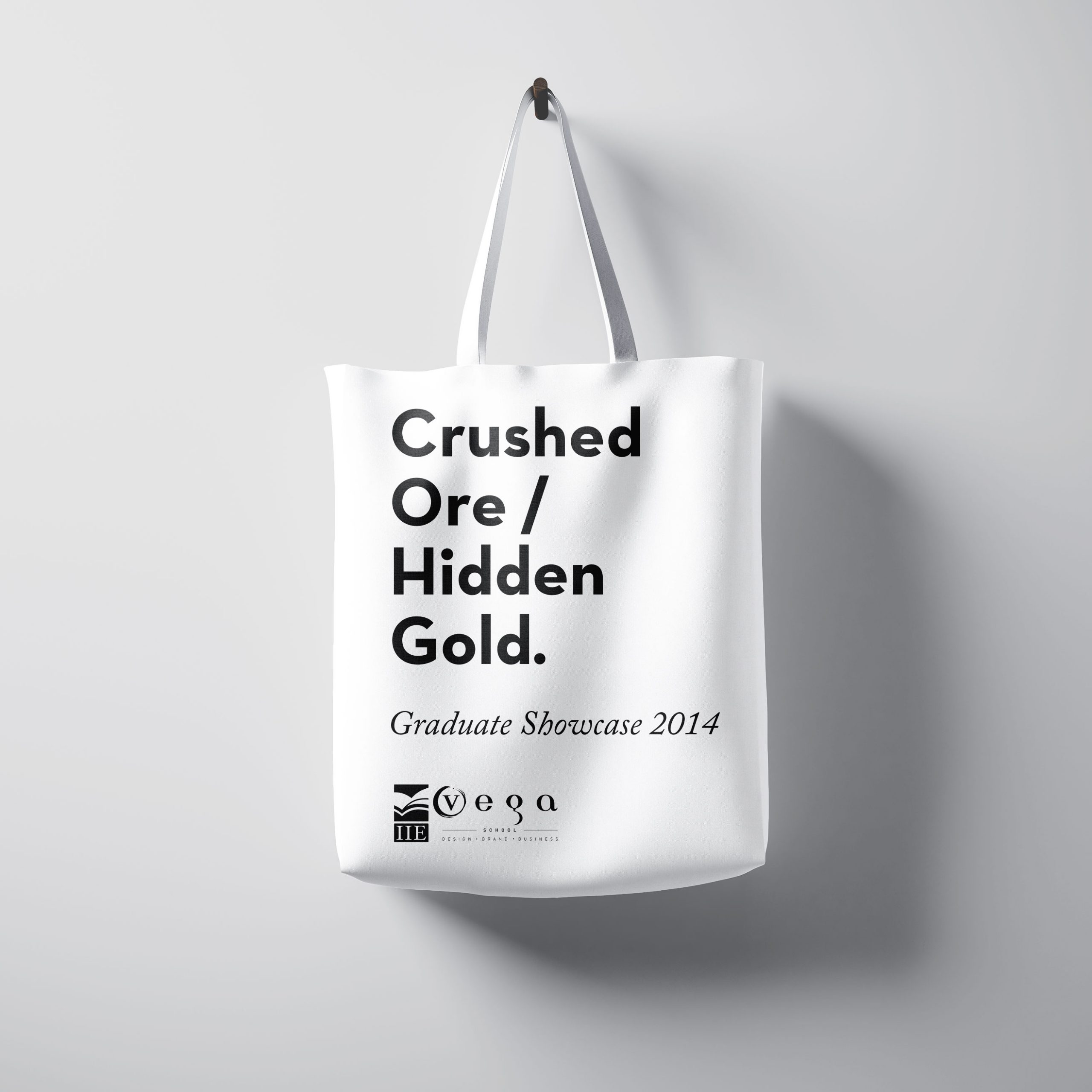 Crushed Ore Hidden Gold Tote Bag