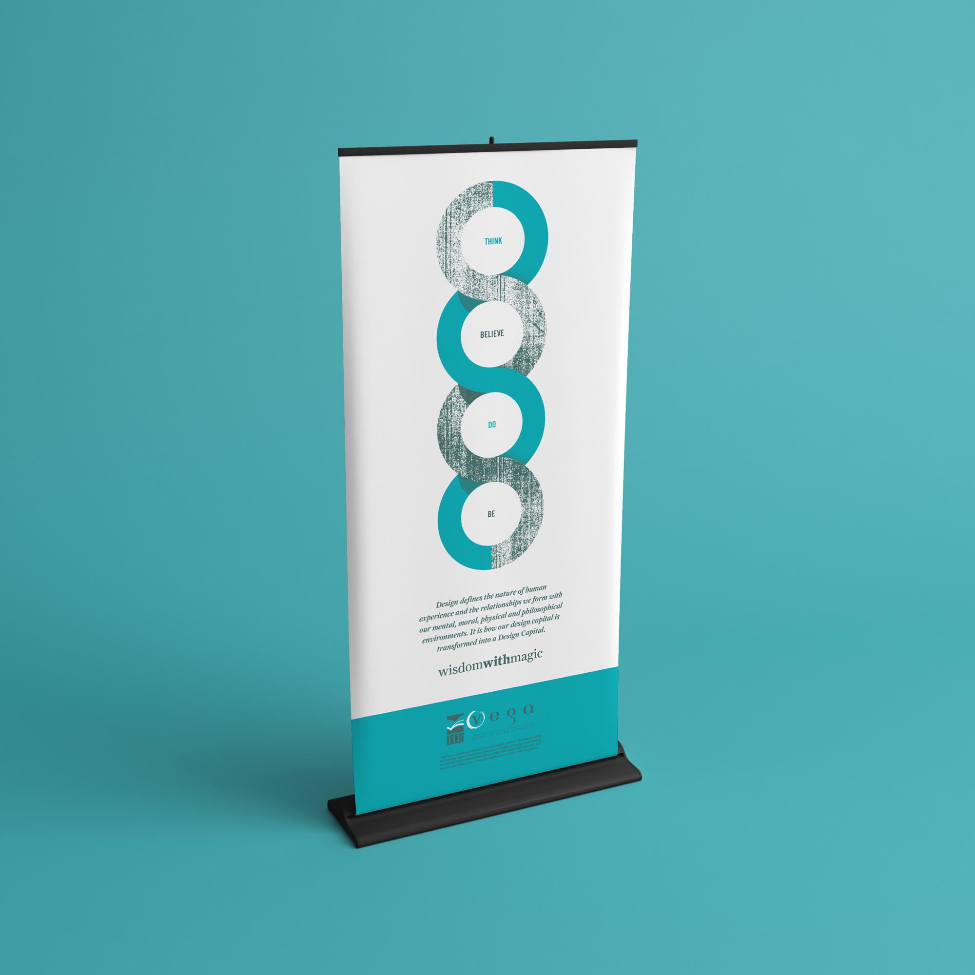 Elevator Banner for Vega Showcase 2013