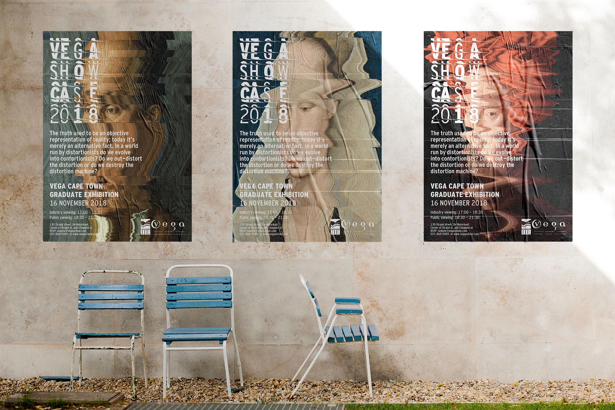 Distort Posters