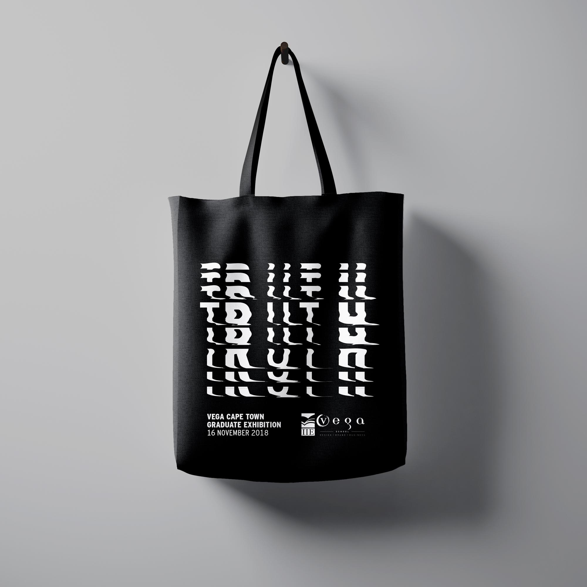 Distort Tote Bag