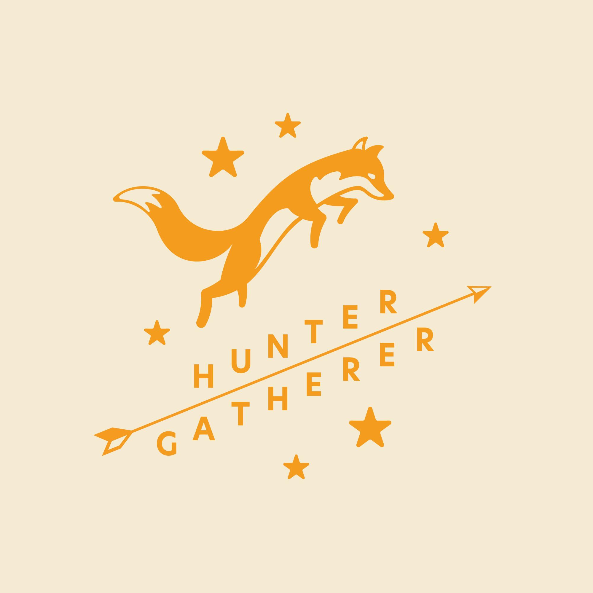 Hunter Gatherer Full Logo