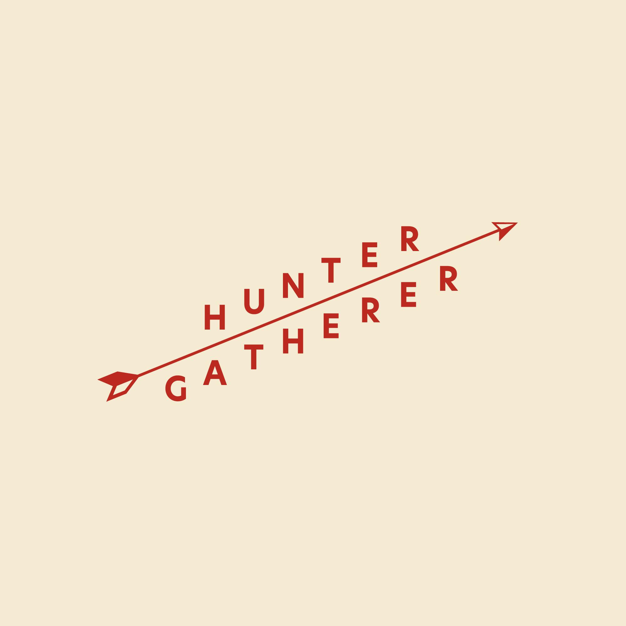 Hunter Gatherer Logotype