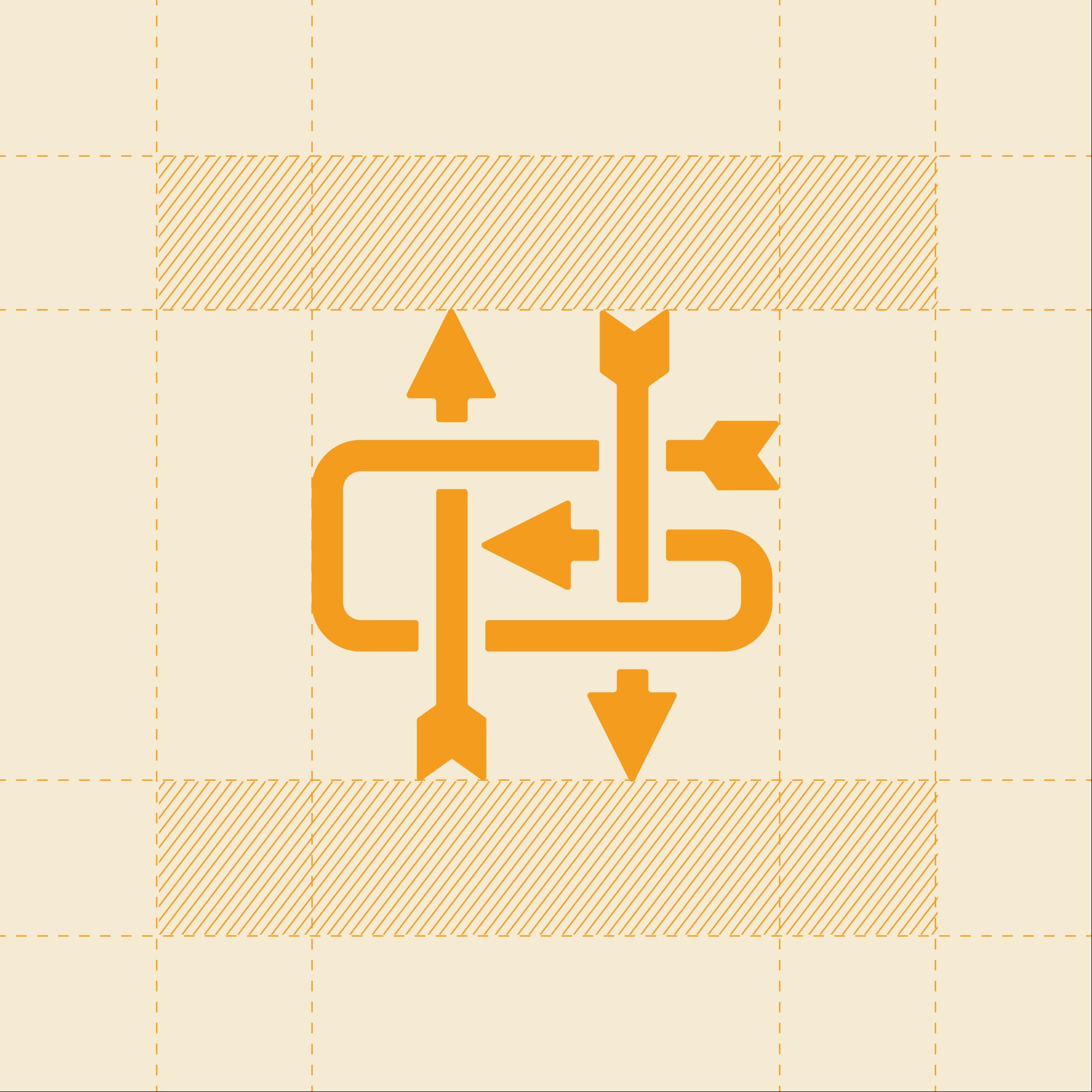 Hunter Gatherer Monogram Grid