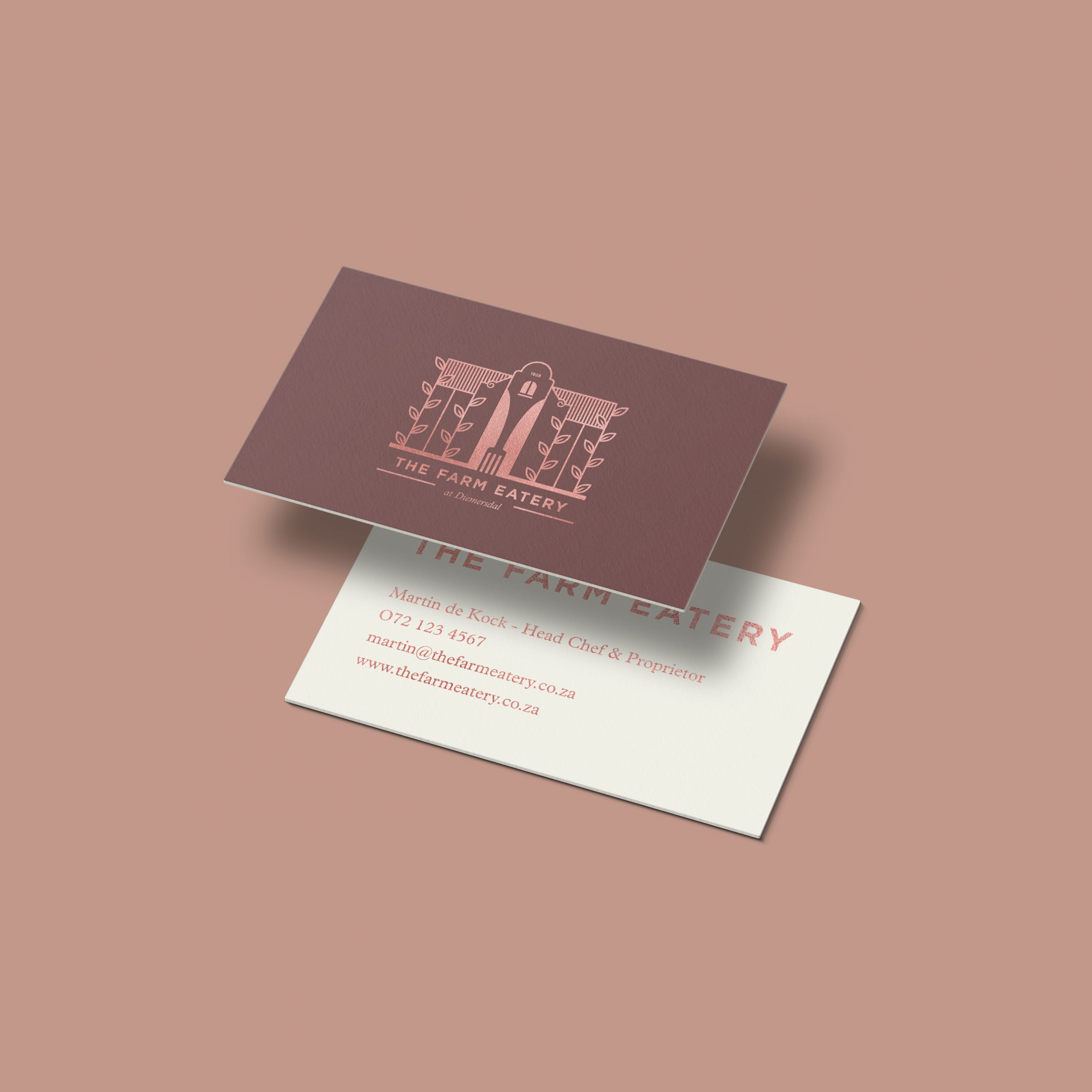 The Farm Eatery Business Card