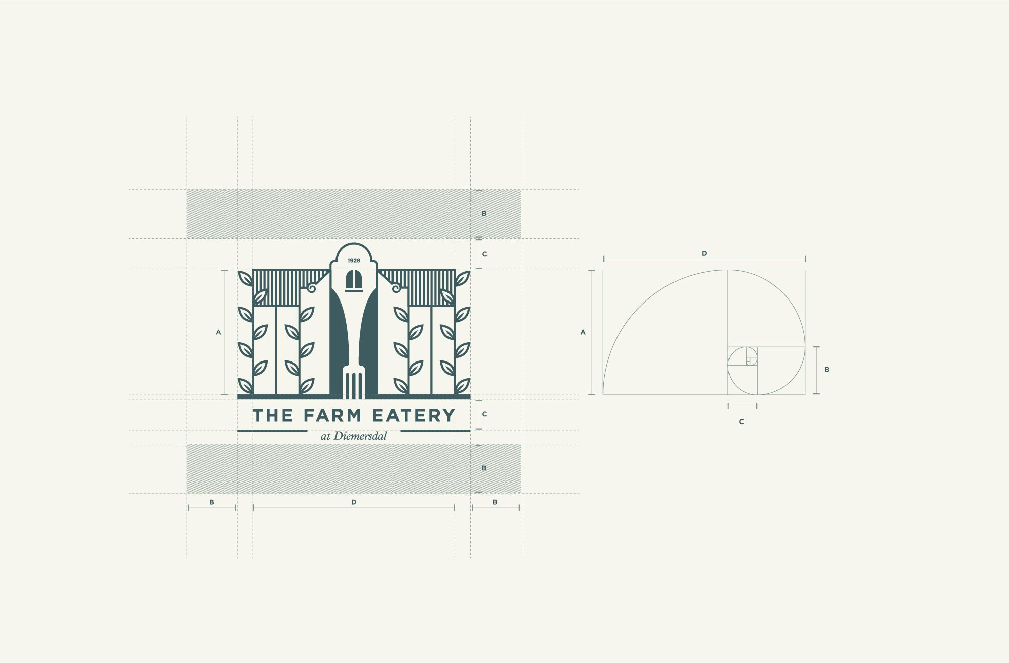 The Farm Eatery Visual System (Logomark)
