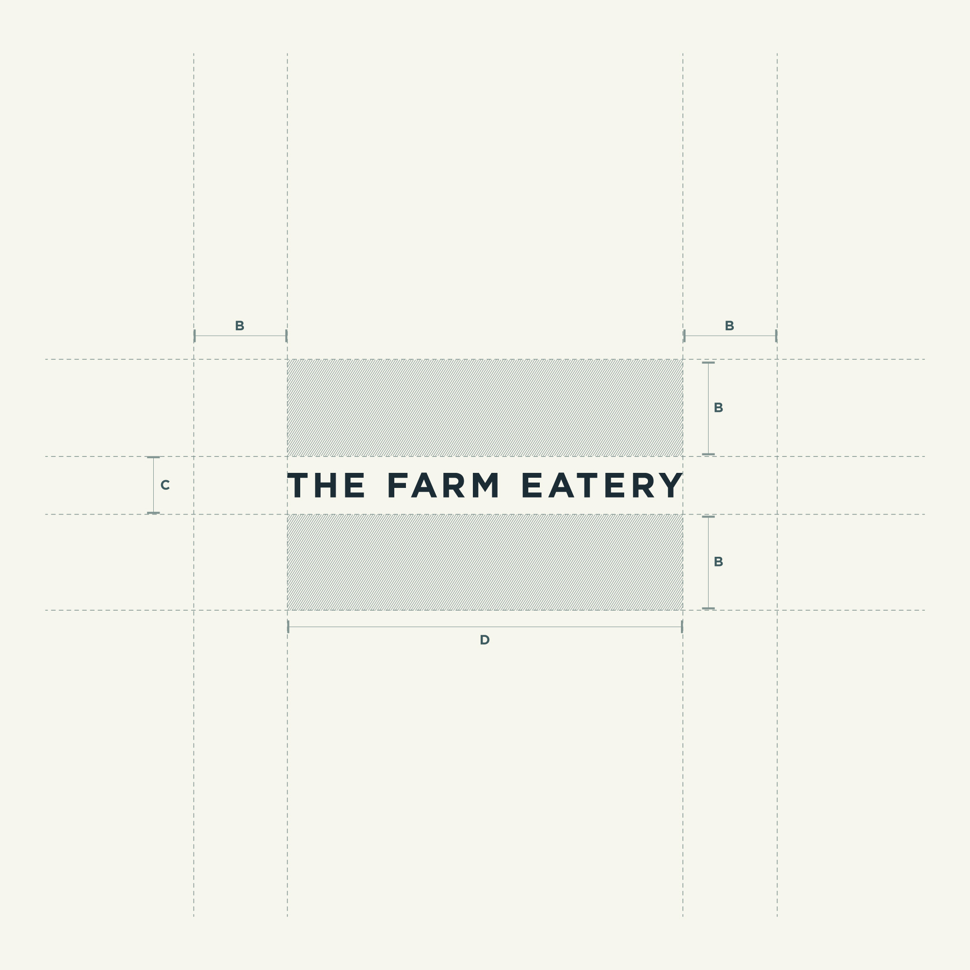 The Farm Eatery Visual System (Logotype)