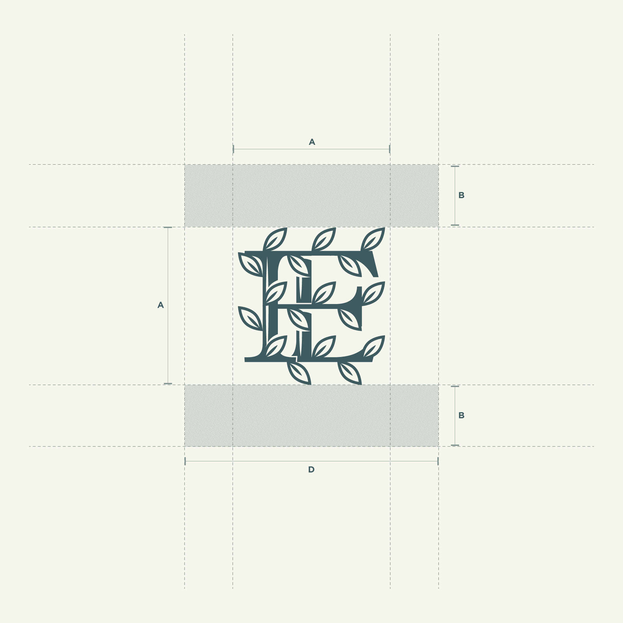 The Farm Eatery Visual System (Monogram)