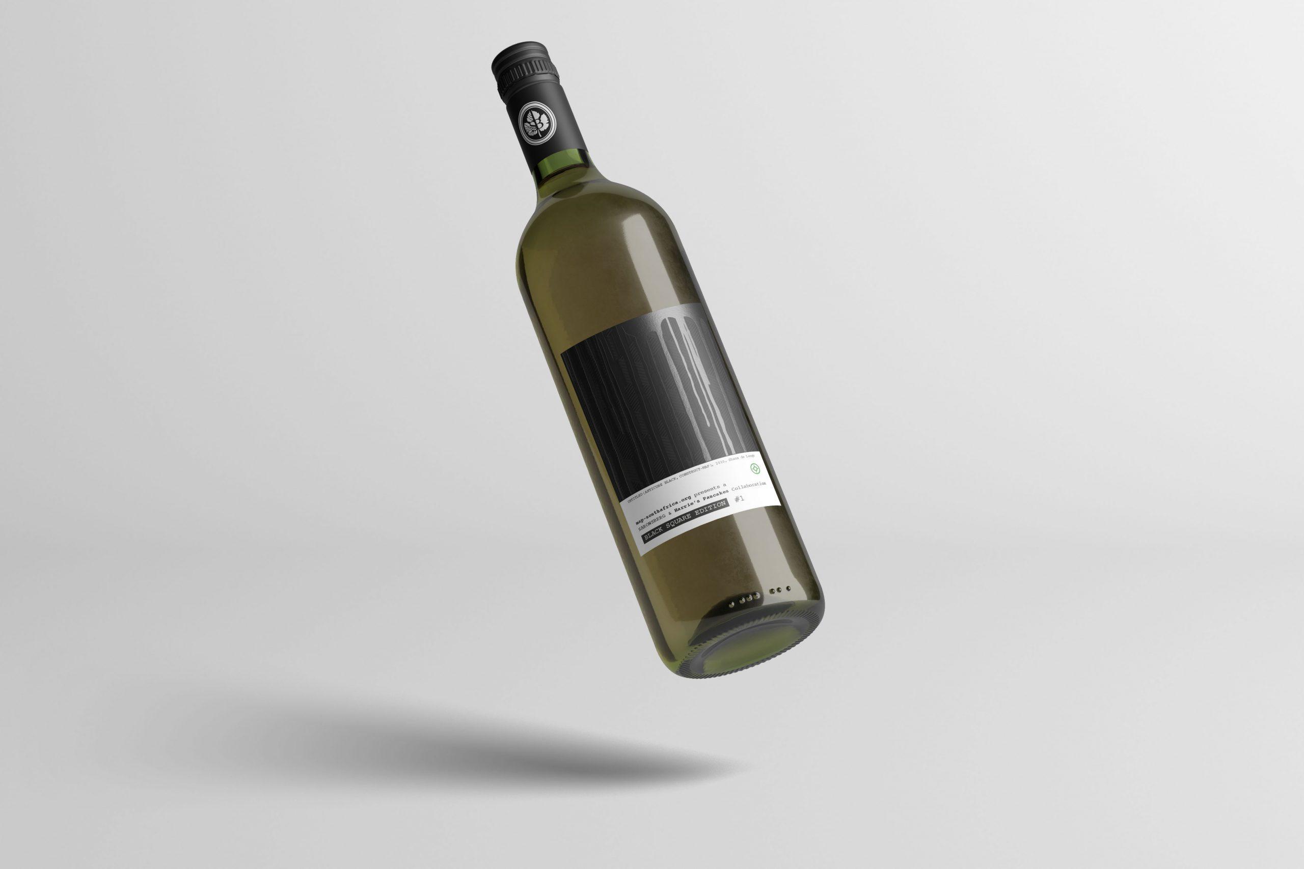 Black Square Series Sauvignon Blanc (Front, Floating)