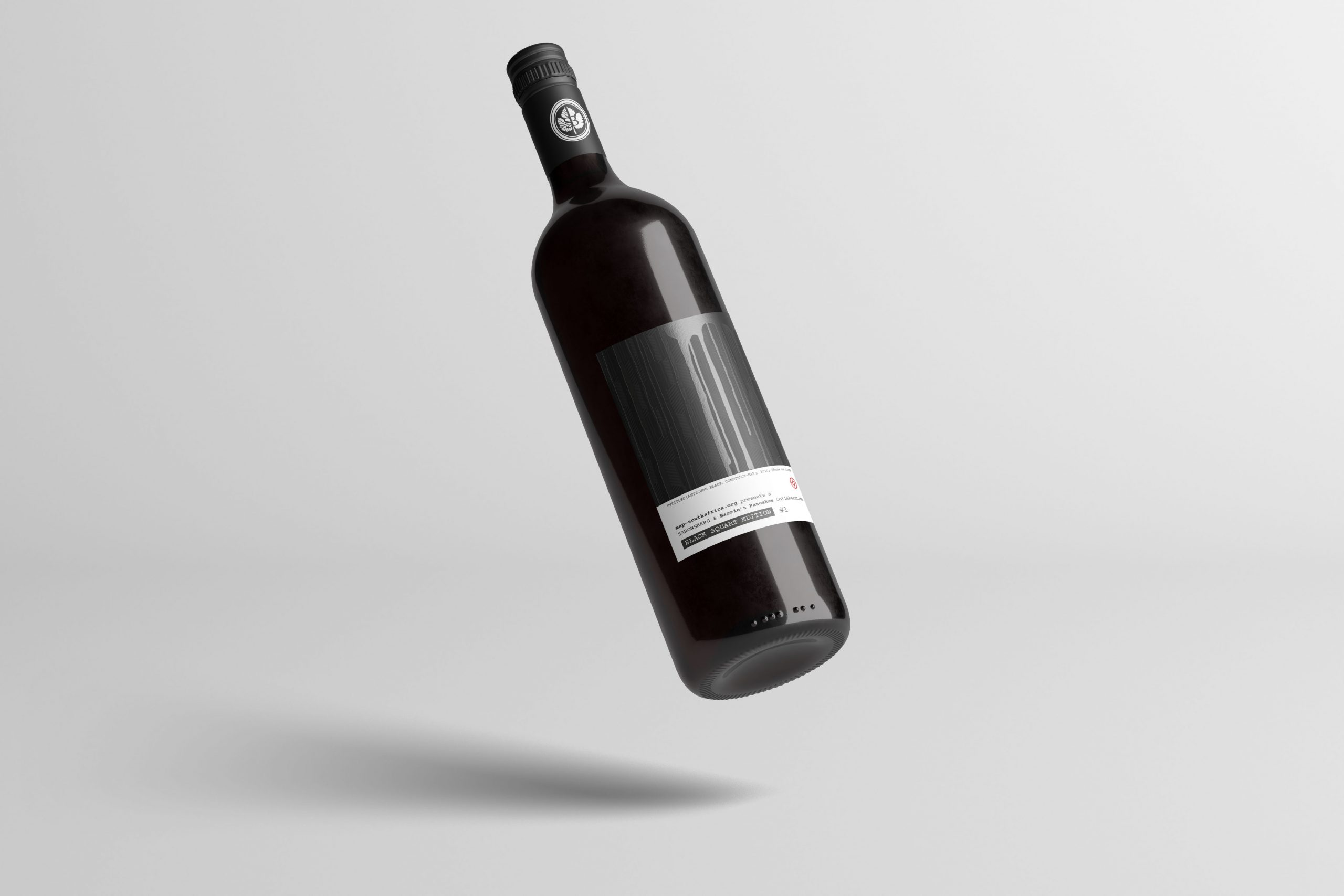 Black Square Series Shiraz Mourvedre (Front, Floating)