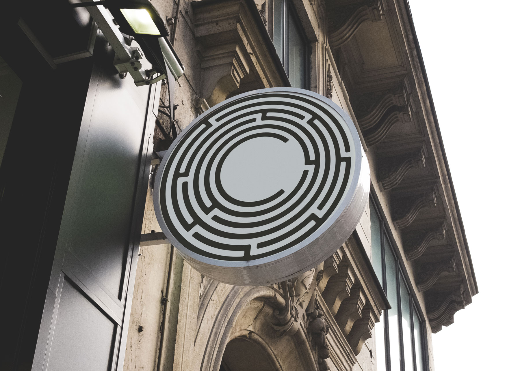 Colophon Branding Outdoor Signage