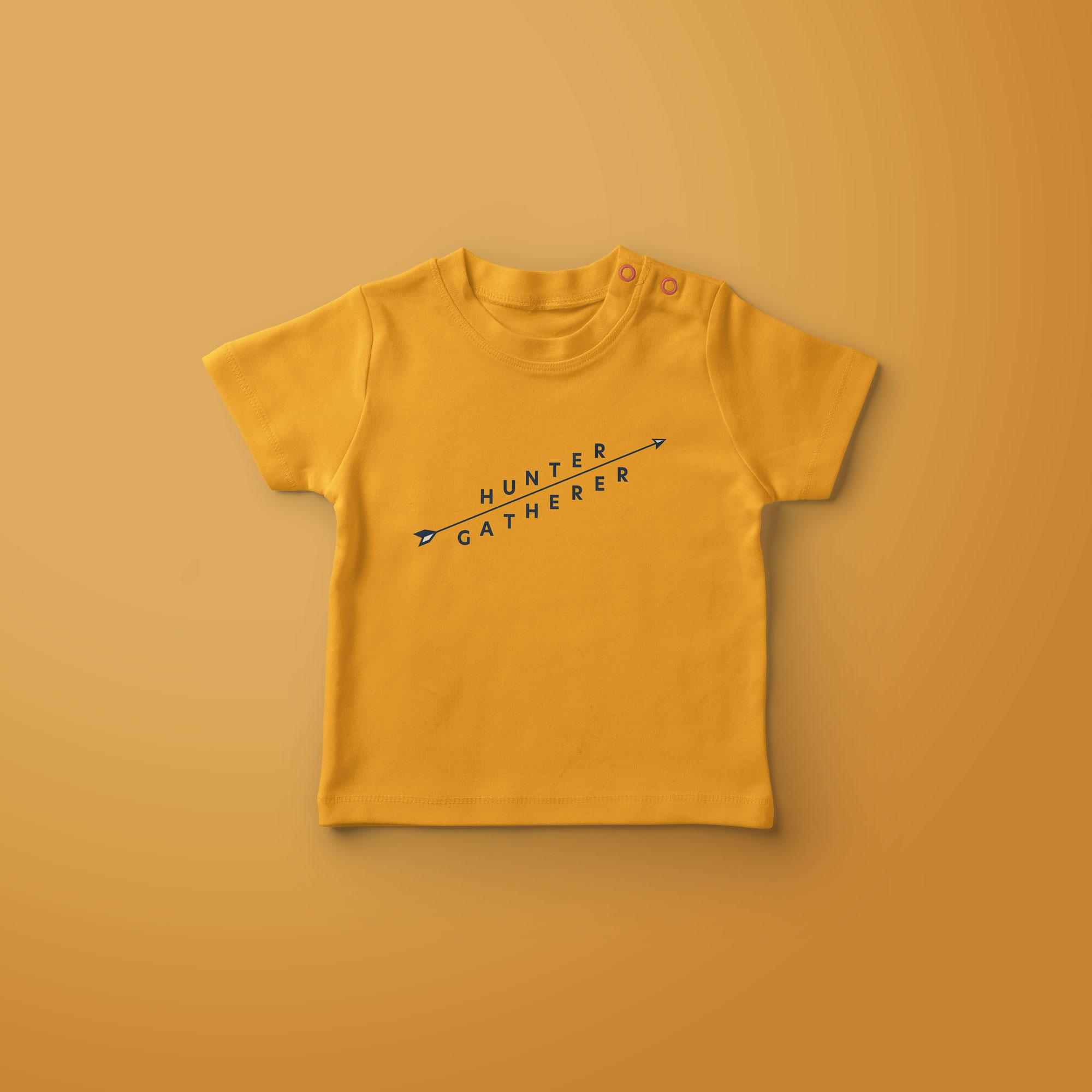 Hunter Gatherer Baby T-Shirt