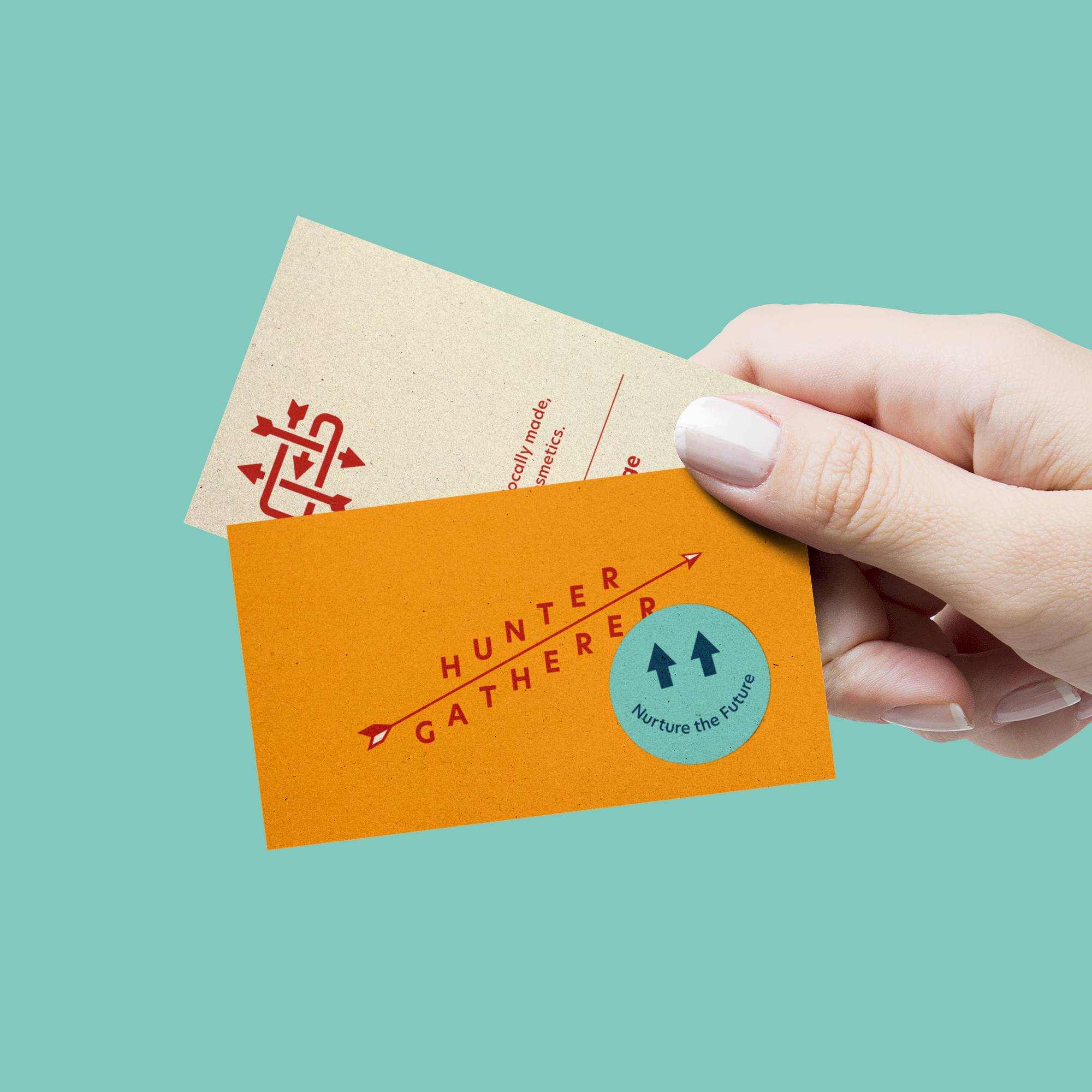 Hunter Gatherer Business Card