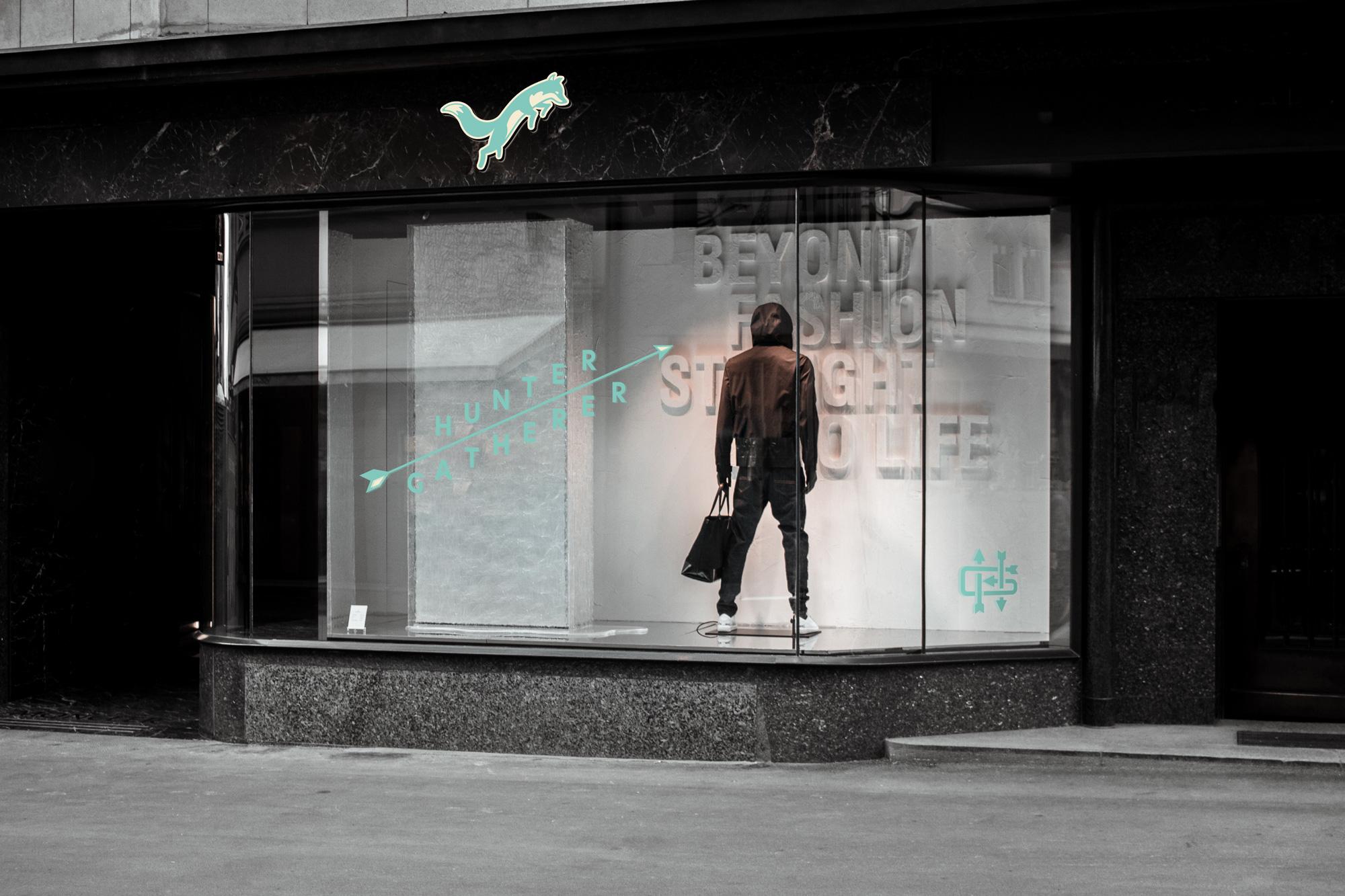 Hunter Gatherer Shopfront