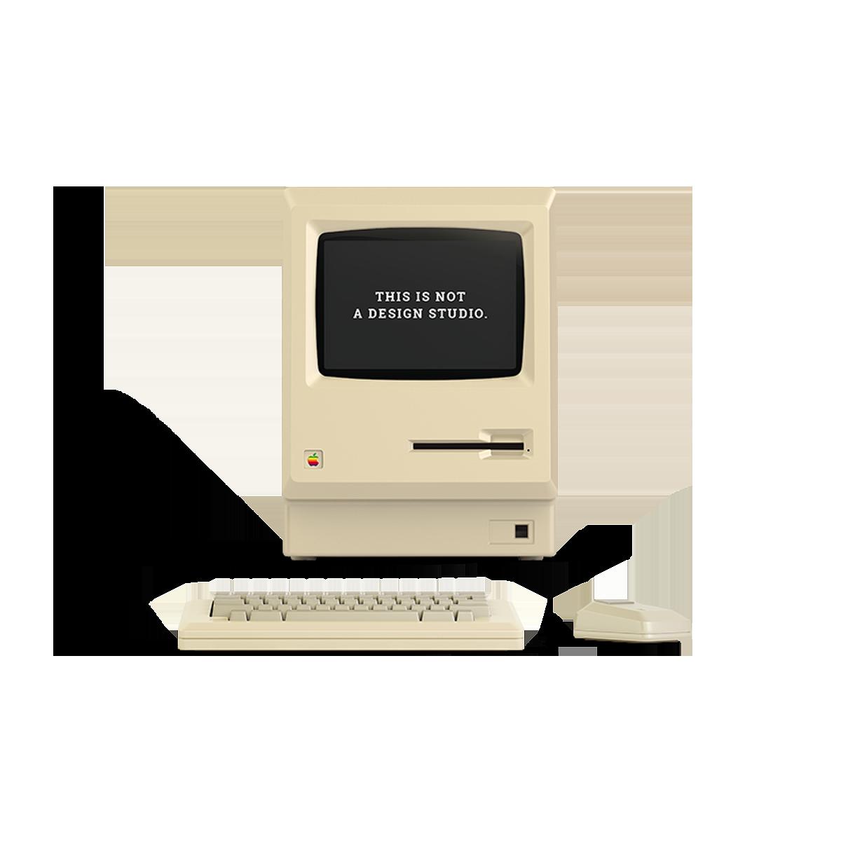 Macintosh is not a studio