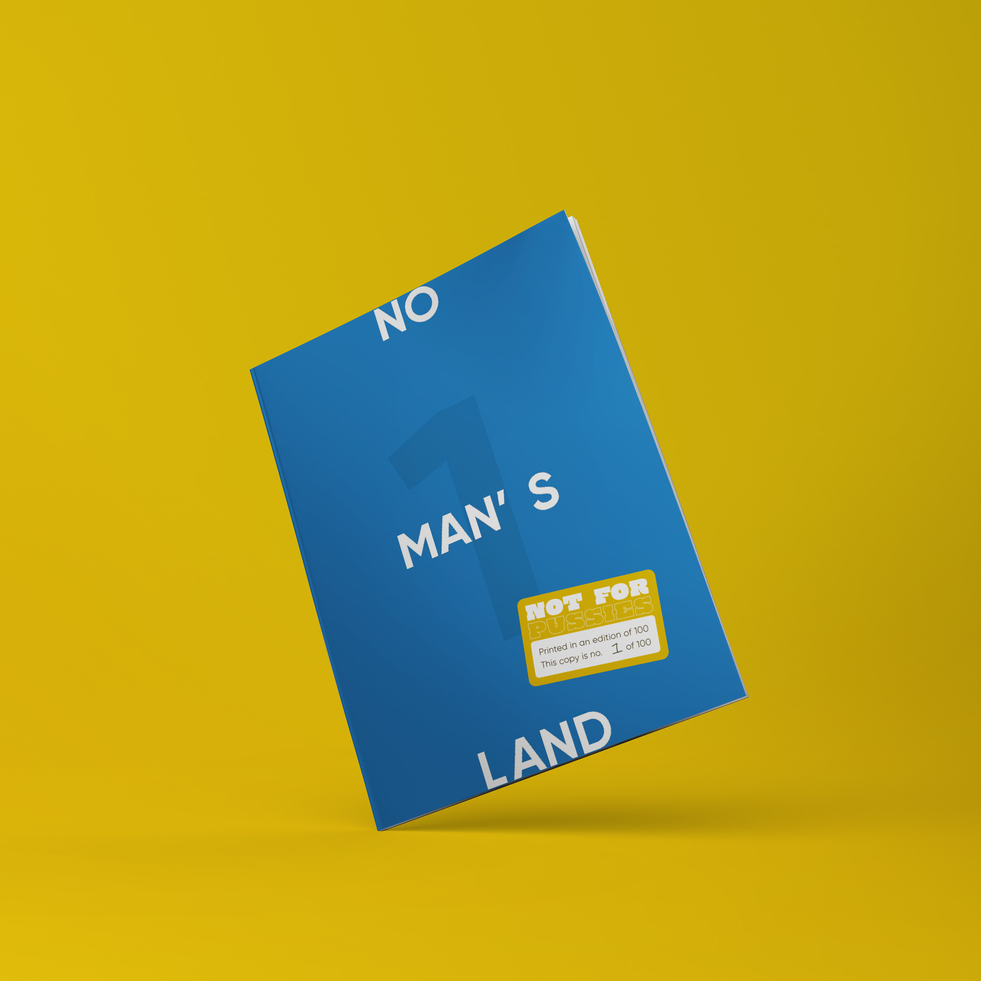 No Man's Land Magazine Cover (Front)