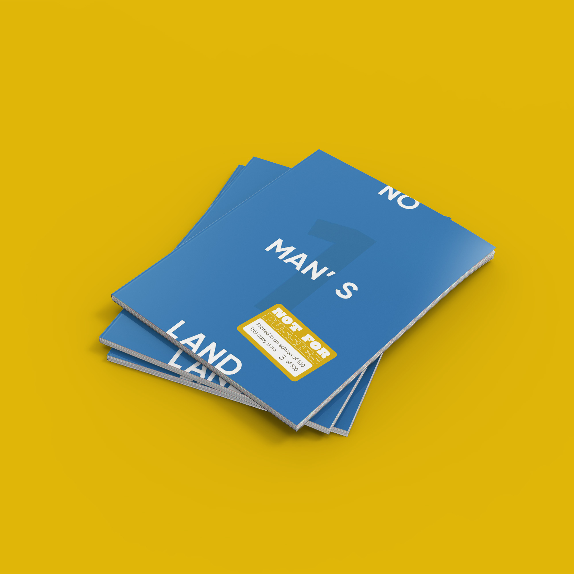 No Man's Land Magazine (Cover)