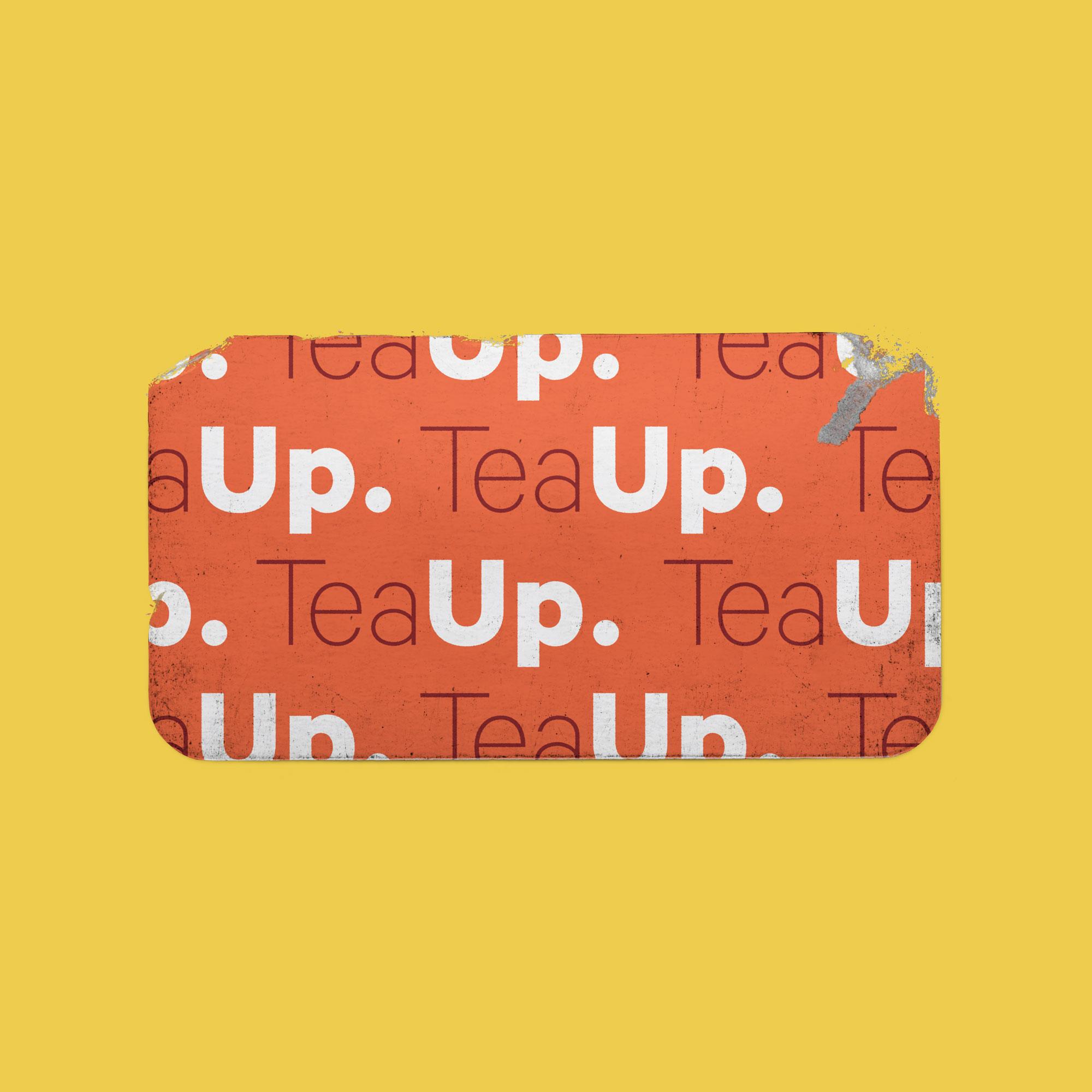 TeaUp Sticker