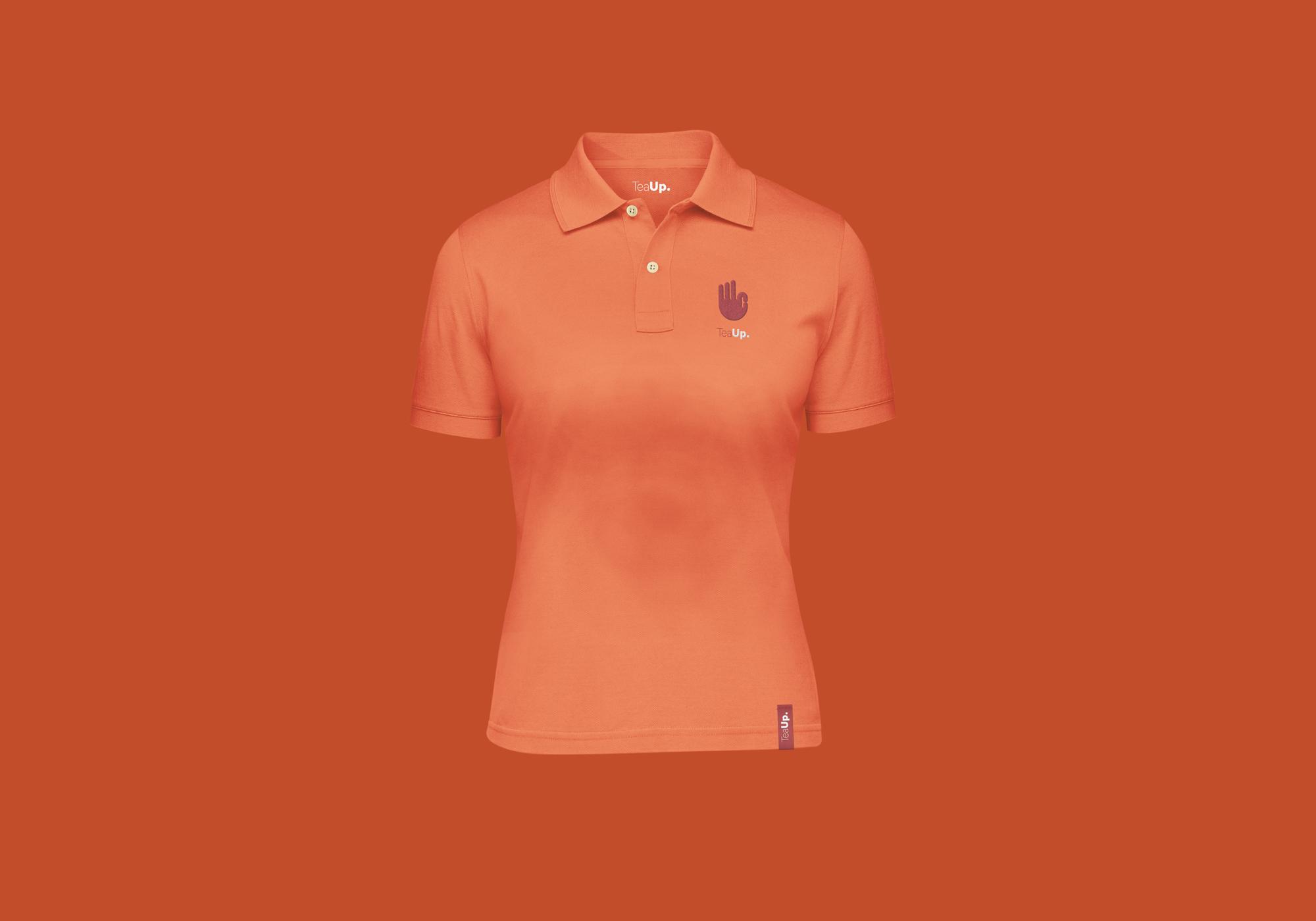 TeaUp Womens Polo