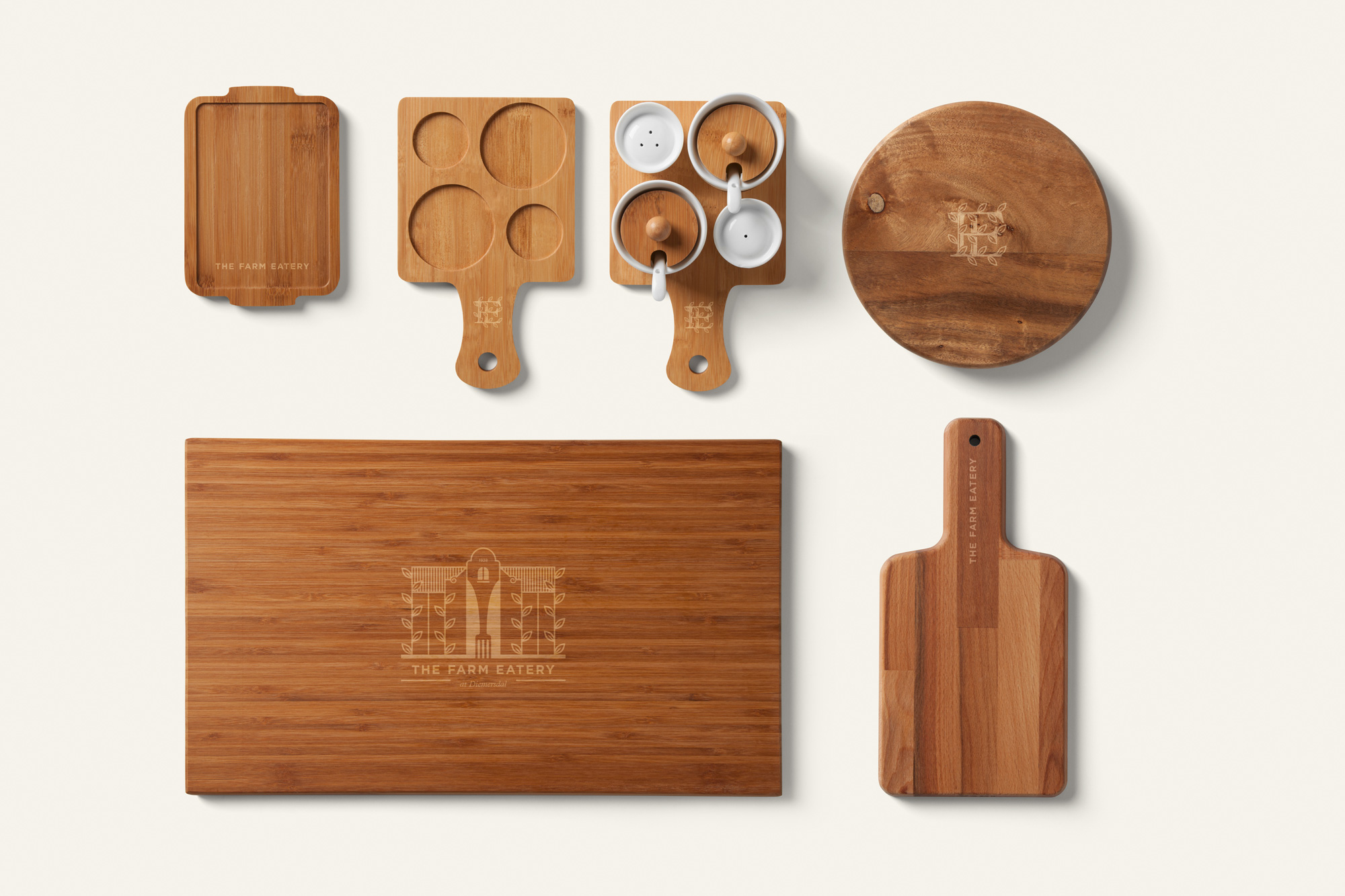 The Farm Eatery Serving Boards