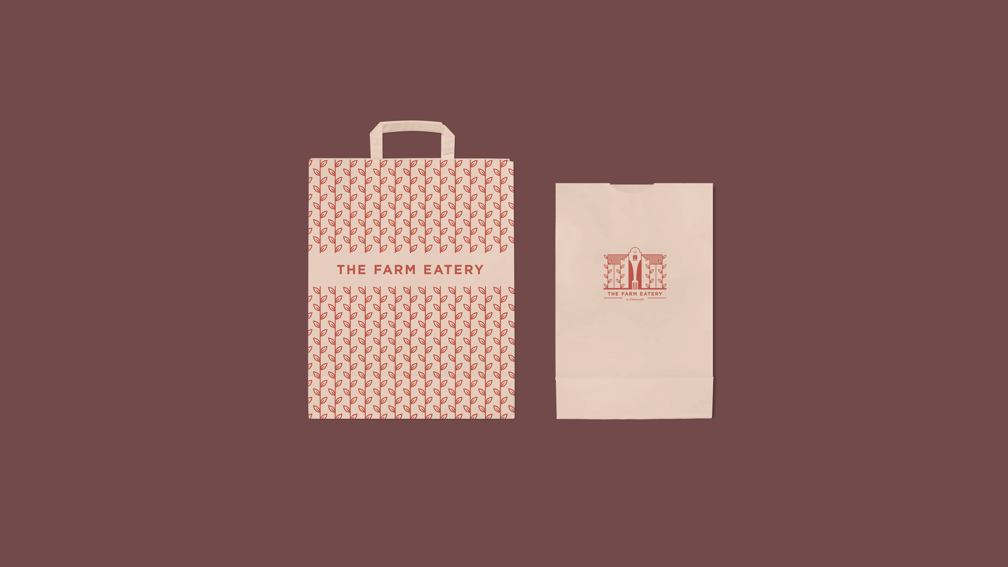 The Farm Eatery Takeaway Bags